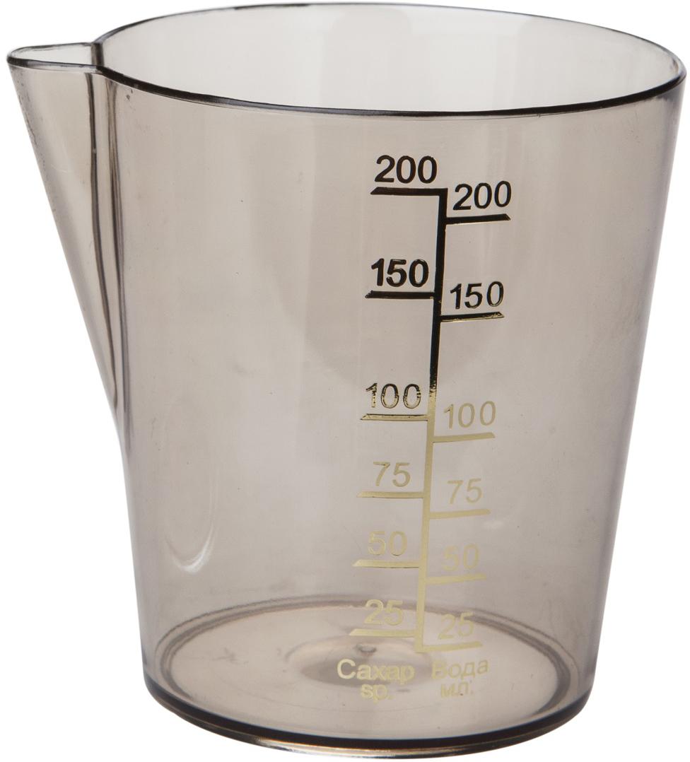 """Прозрачная мерная емкость """"Plast Team"""" выполнена из полистирола. Создает эффект посуды из стекла. Для удобства покупателей мерная шкала на емкости выполнена на русском языке.   Объем емкости: 0,2 л."""
