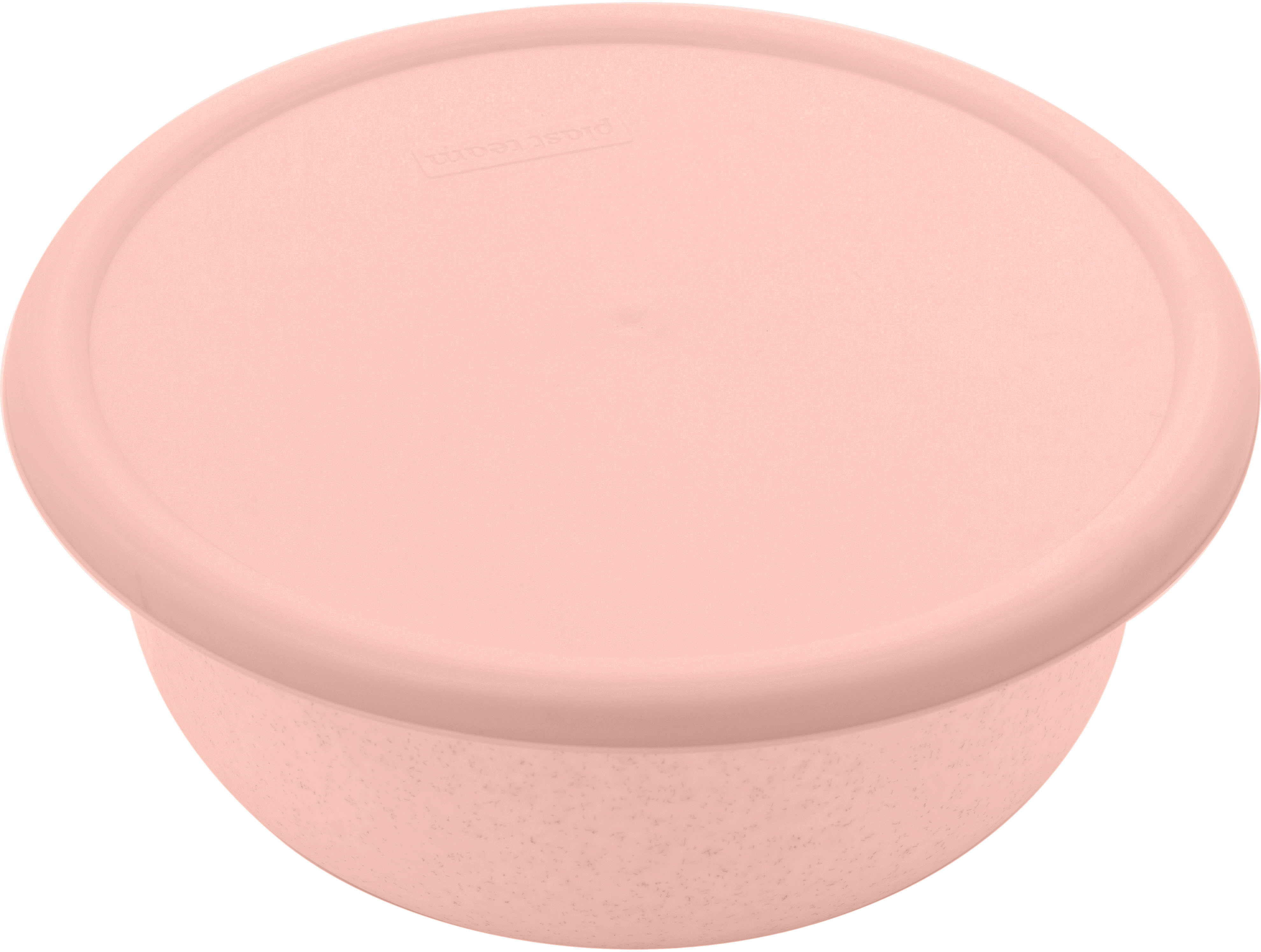 Миска Plast Team, цвет: пудровый, с крышкой, 3,2 л механизм сливной alca plast a08