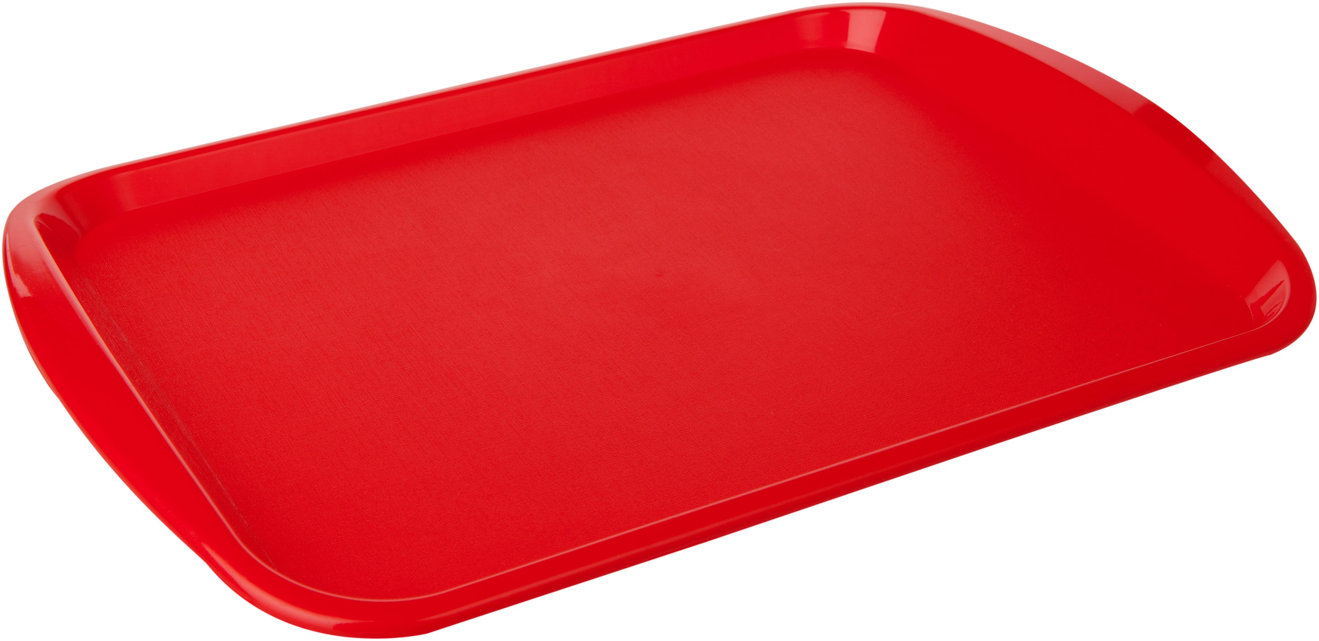 Поднос Plast Team, цвет: красный, прямоугольный, 43,5 х 30,5 х 2,5 смPT9215КР-20РNКрепкий, ударопрочный поднос выдерживает повышенную нагрузку. Удобные боковые ручки для захвата. Покрытие шагрень на внутренней поверхности препятству