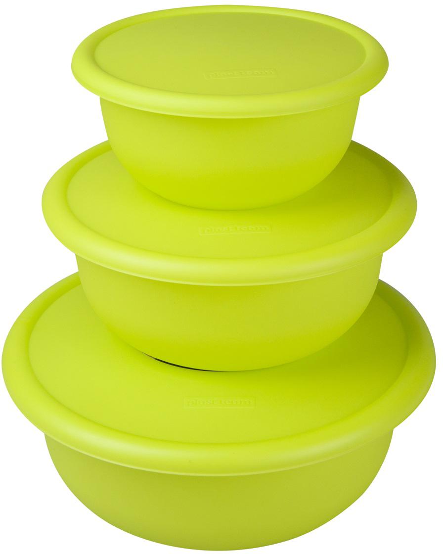 """Универсальные миски """"Plast team"""" с плотно закрывающейся крышкой, предназначены для  приготовления, хранения и переноски продуктов. Благодаря плотно защелкивающейся крышке  миску можно использовать для хранения и переноски продуктов. Крышка в закрытом состоянии  надежно запирает слив."""