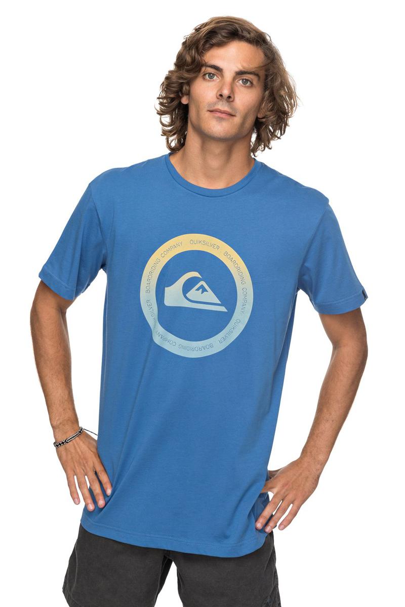 Футболка мужская Quiksilver Classic Kahu, цвет: синий. EQYZT04782-BPC0. Размер XXL (54)