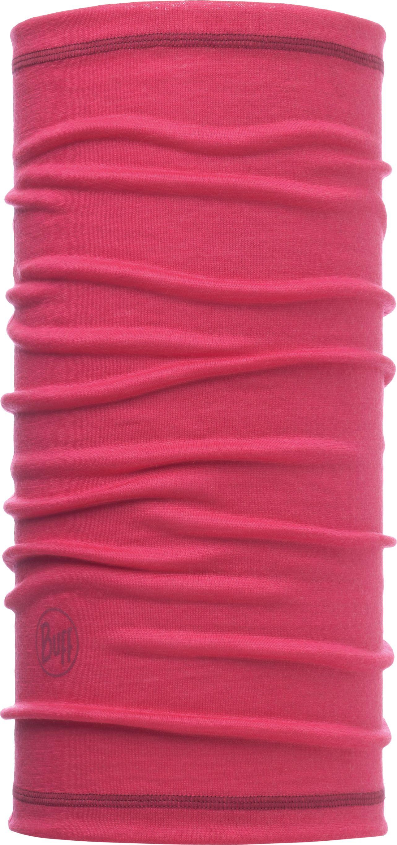 Бандана Buff 3/4 Lightweight Merino Wool Solid Wild Pink, цвет: розовый. 117064.540.10.00. Размер универсальный