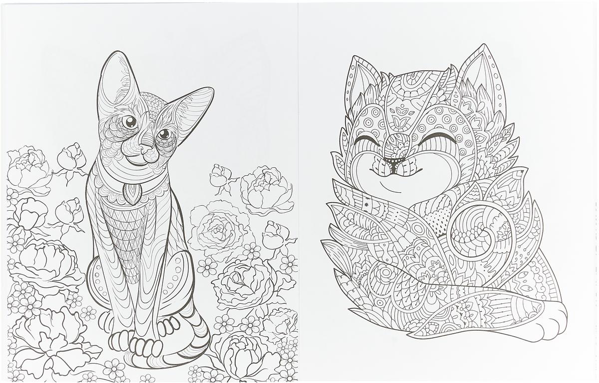 Линда Тейлор. Cats-2. Творческая раскраска замурчательных котиков