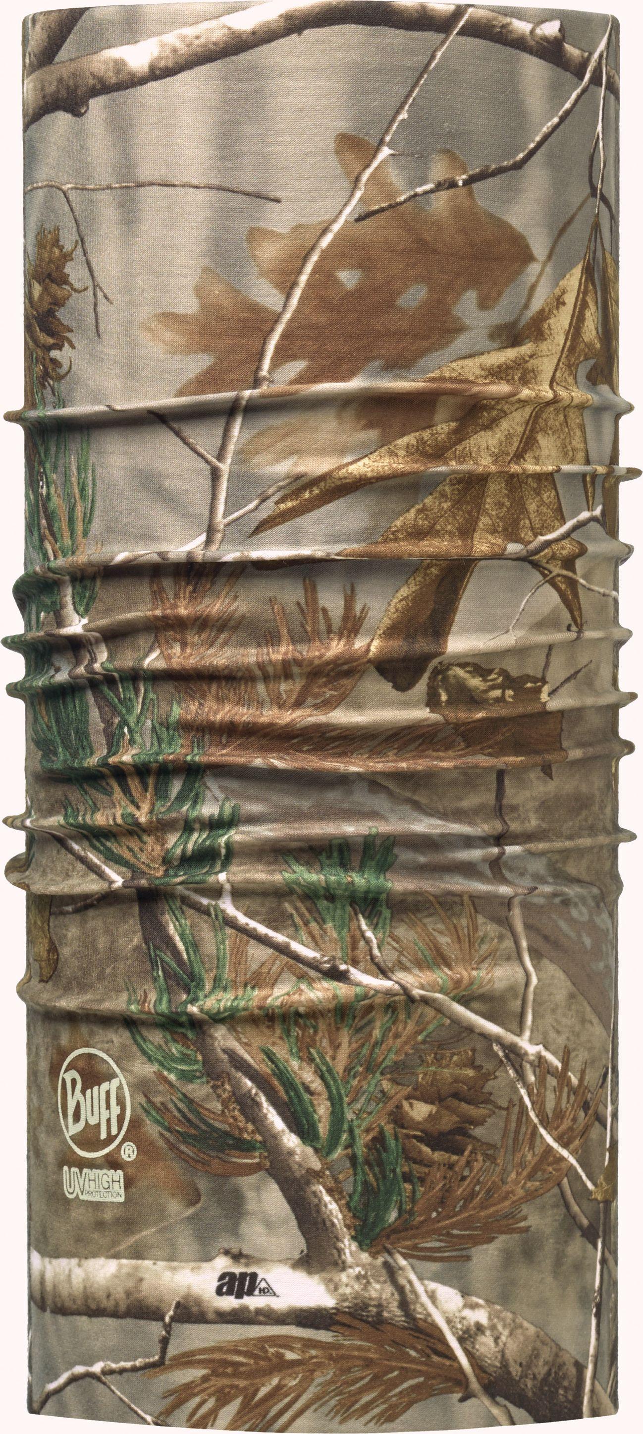 Купить Бандана Buff Realtree UV Protection Ap, цвет: коричневый. 107717.00. Размер универсальный