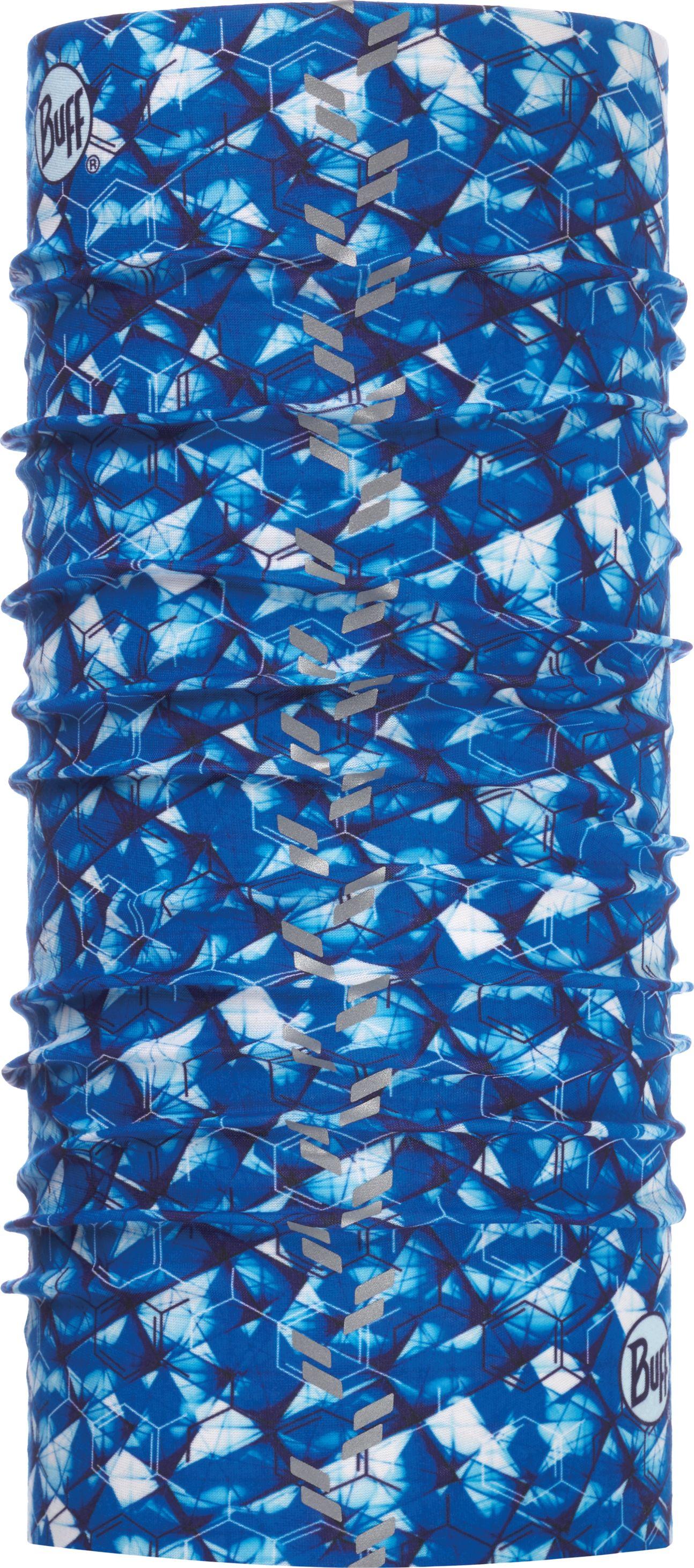 Купить Бандана Buff Reflective R-Adren Cape Blue, цвет: синий. 117041.715.10.00. Размер универсальный