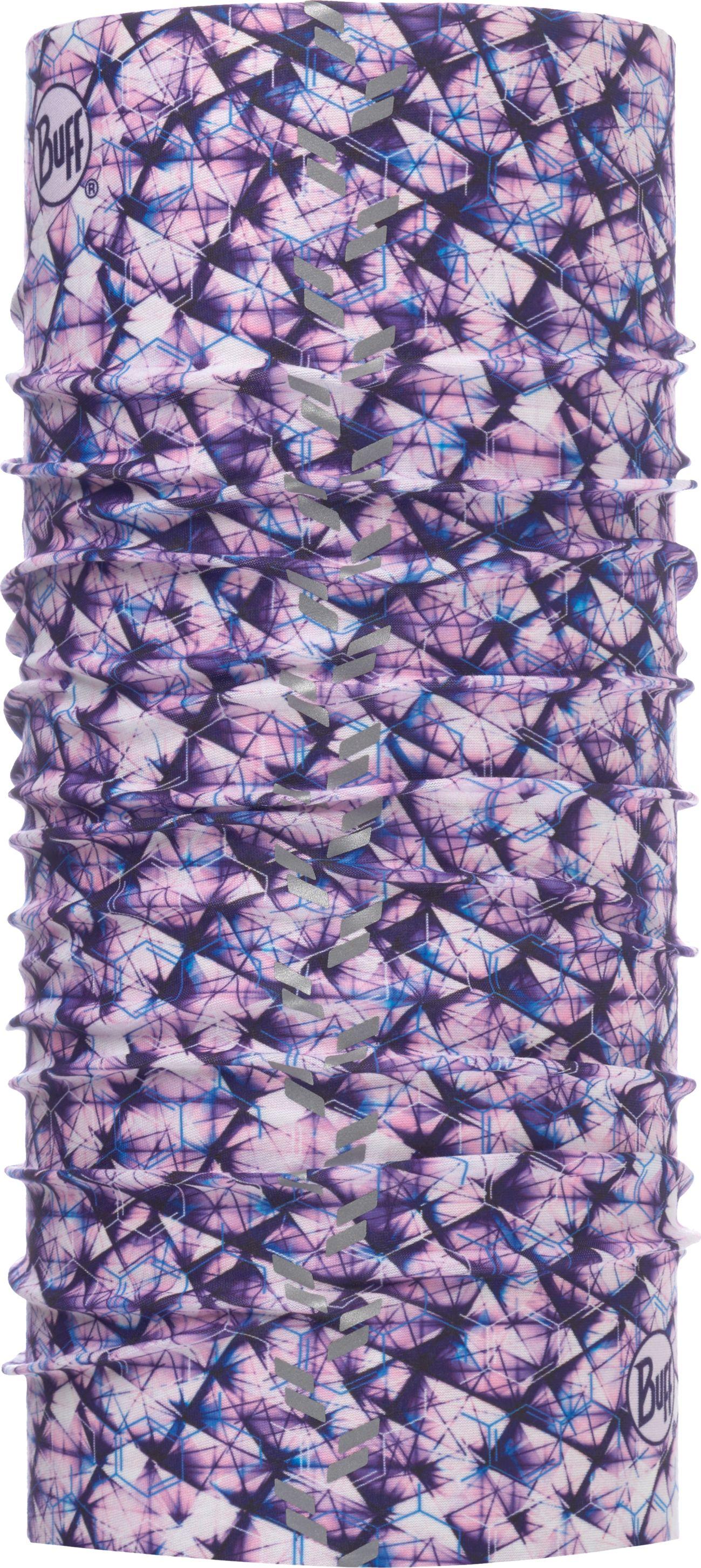 Купить Бандана Buff Reflective R-Adren Purple Lilac, цвет: лиловый. 117041.625.10.00. Размер универсальный