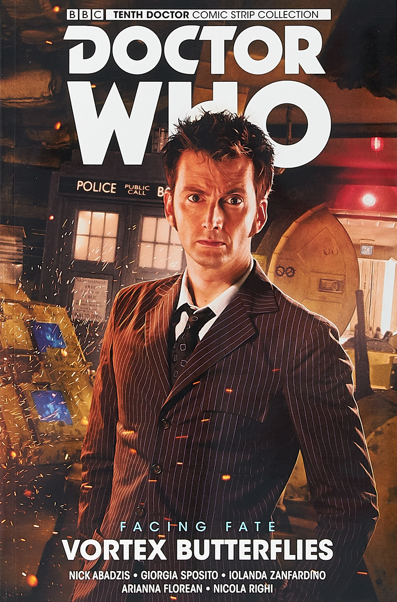 Nick Abadzis Doctor Who. The Tenth Doc ISBN: 978-1785860928 what s the time maisy