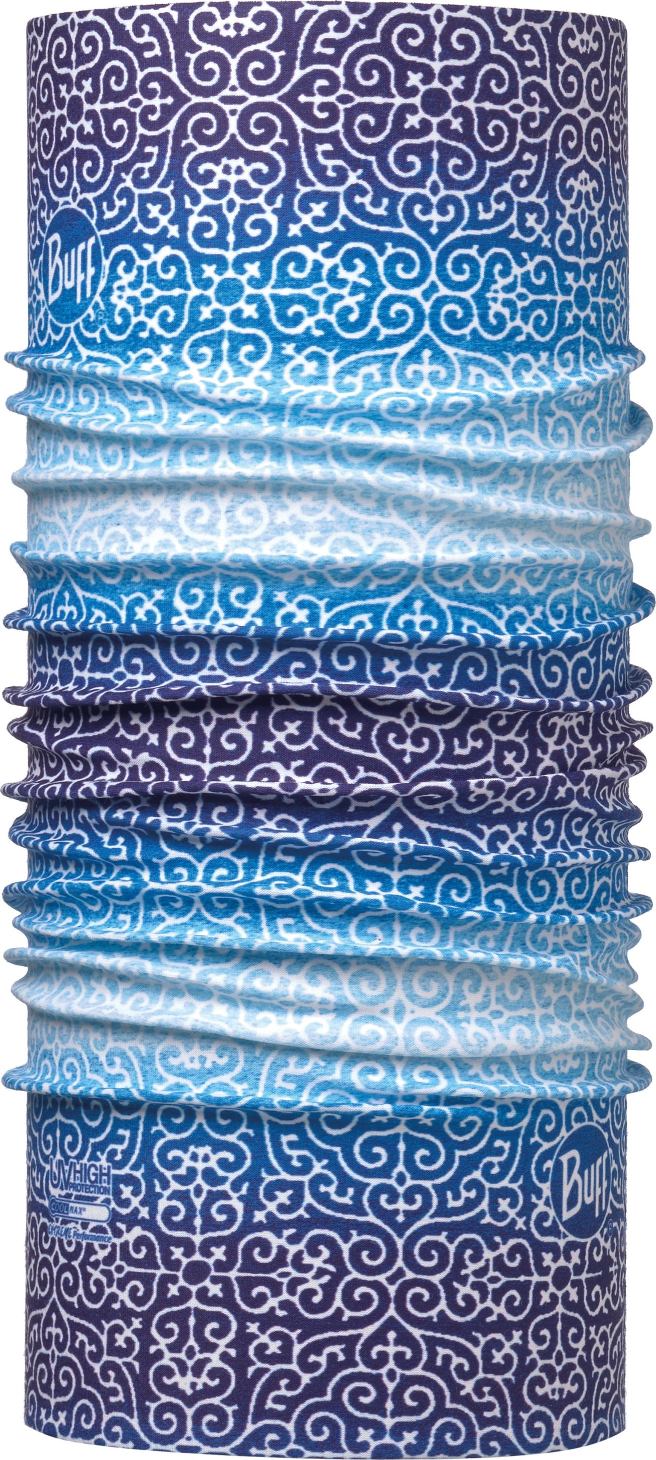 Купить Бандана Buff UV Protection Dharma Blue, цвет: синий. 113614.707.10.00. Размер универсальный