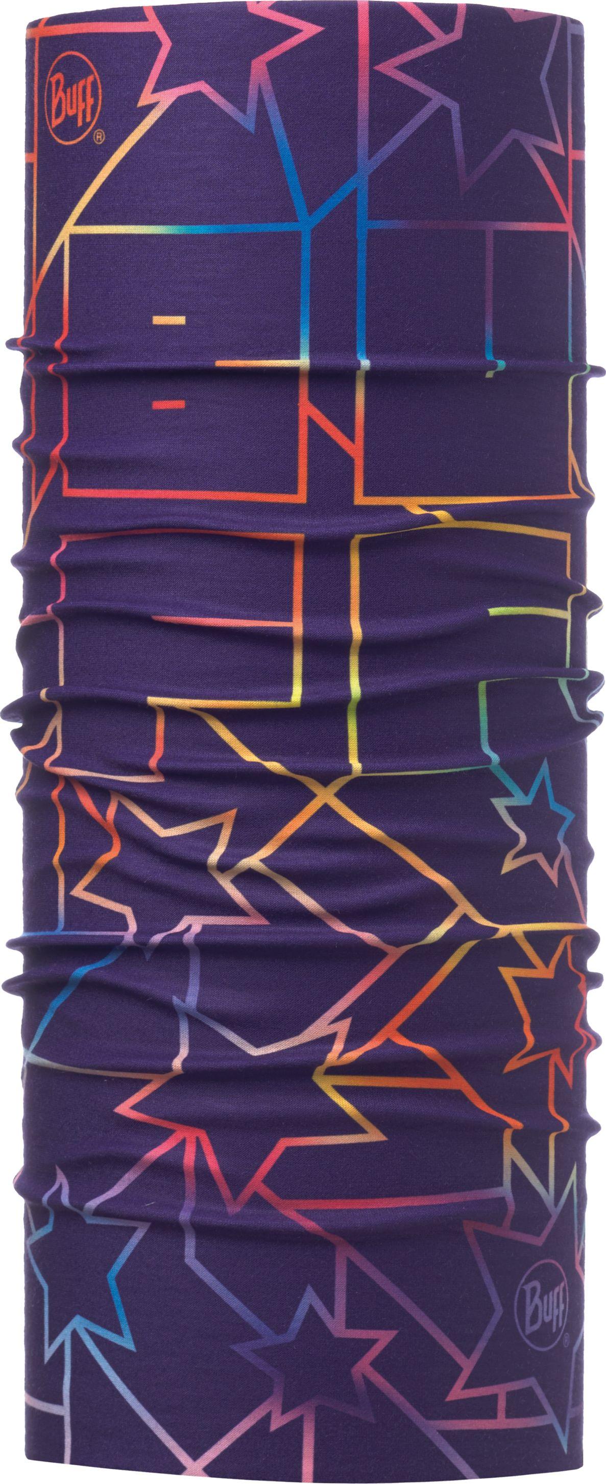 Купить Бандана детская Buff UV Protection Junior Supernova Purple, цвет: фиолетовый. 117115.605.10.00. Размер универсальный