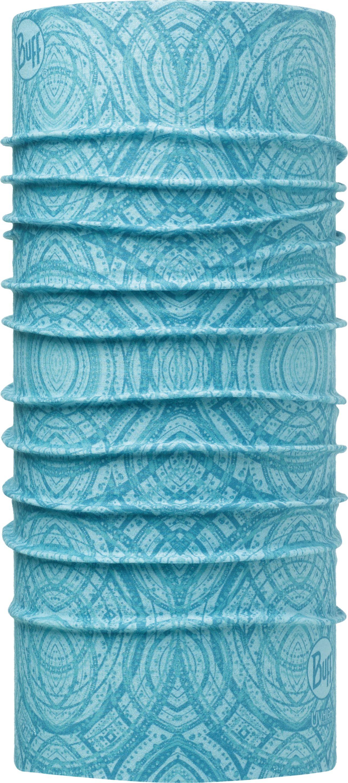 Купить Бандана Buff UV Protection Mash Turquoise, цвет: голубой. 111440.789.10.00. Размер универсальный