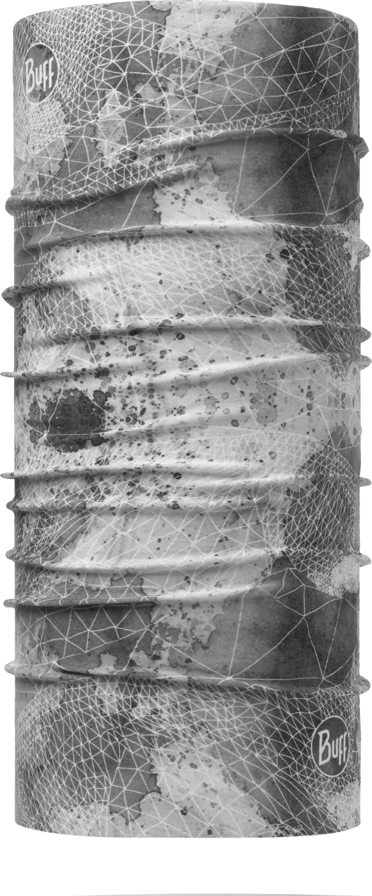 Купить Бандана Buff UV Protection Net Silver Grey, цвет: серый. 117025.334.10.00. Размер универсальный
