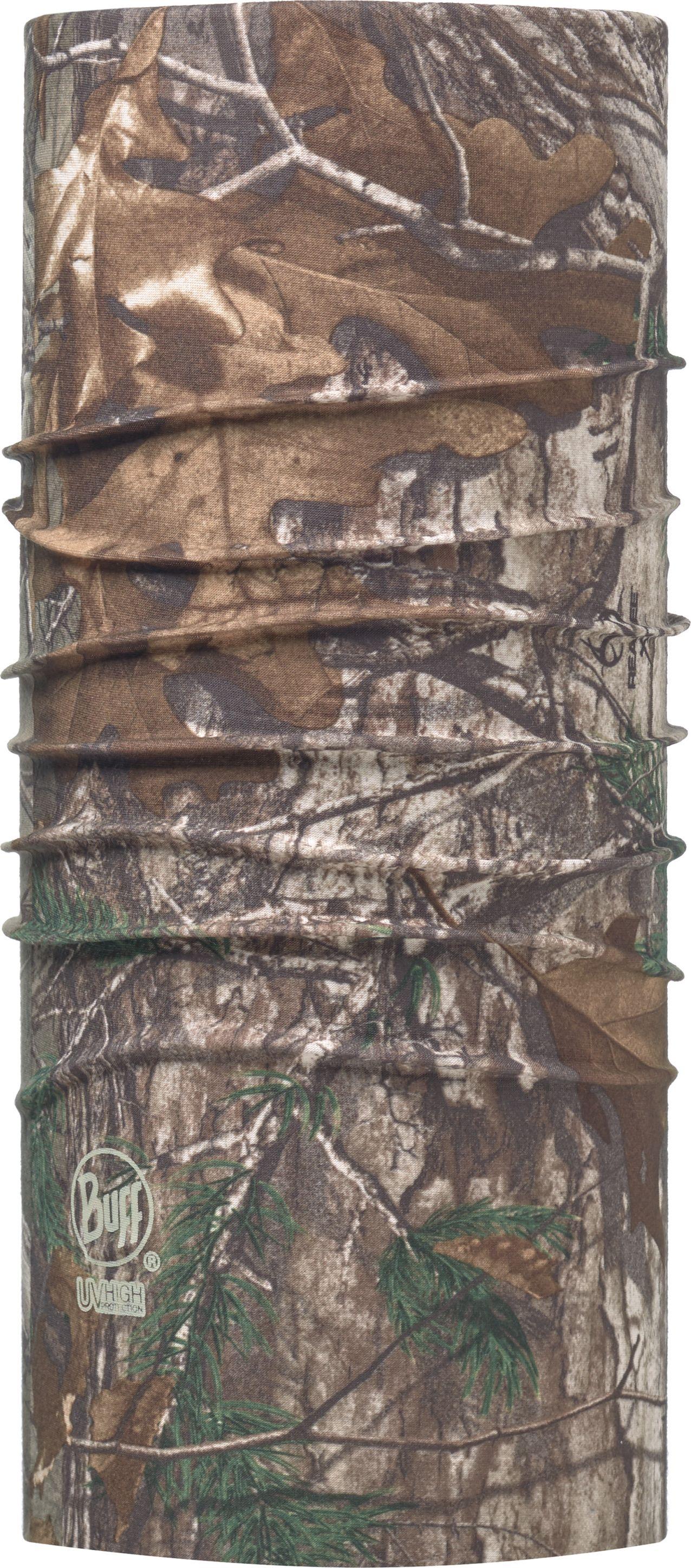 Бандана Buff UV Protection Realtree Extra, цвет: коричневый. 111375.00. Размер универсальный111375.00Бандана-труба из серии BUFF UV PROTECTION с высокой степенью защиты от ультрафиолетового излучения. Благодаря материалу Coolmax быстро сохнет и превосходно обеспечивает терморегуляцию. Тонкий, легкий бафф оптимально подходит для занятий летними видами спорта, пляжных игр, бега и пеших прогулок в жаркие дни. Дизайн с рыбами популярен в среде рыбаков и прекрасно подходит для летней рыбалки, чтобы защитить лицо и шею от солнца. Связана по круговой технологии, поэтому не имеет швов. Особенности: превосходная воздухопроницаемость и контроль влажности; легкий вес.Бандана прекрасно держиться на голове и не спадает при любой степени активности. Размер (обхват головы): 55-62 см.