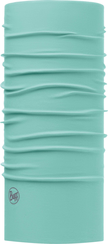 Купить Бандана Buff UV Protection Solid Aqua, цвет: голубой. 111426.711.10.00. Размер универсальный