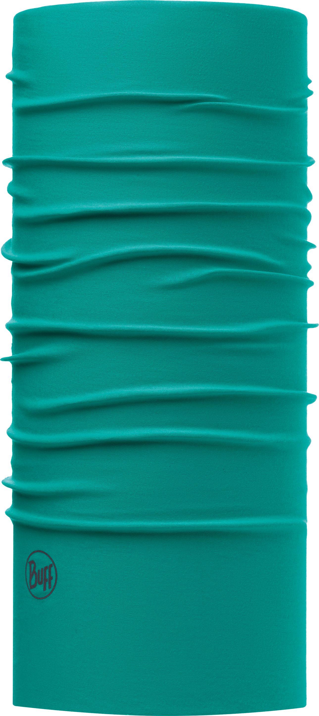 Купить Бандана Buff UV Protection Solid Turquoise, цвет: зеленый. 111426.789.10.00. Размер универсальный