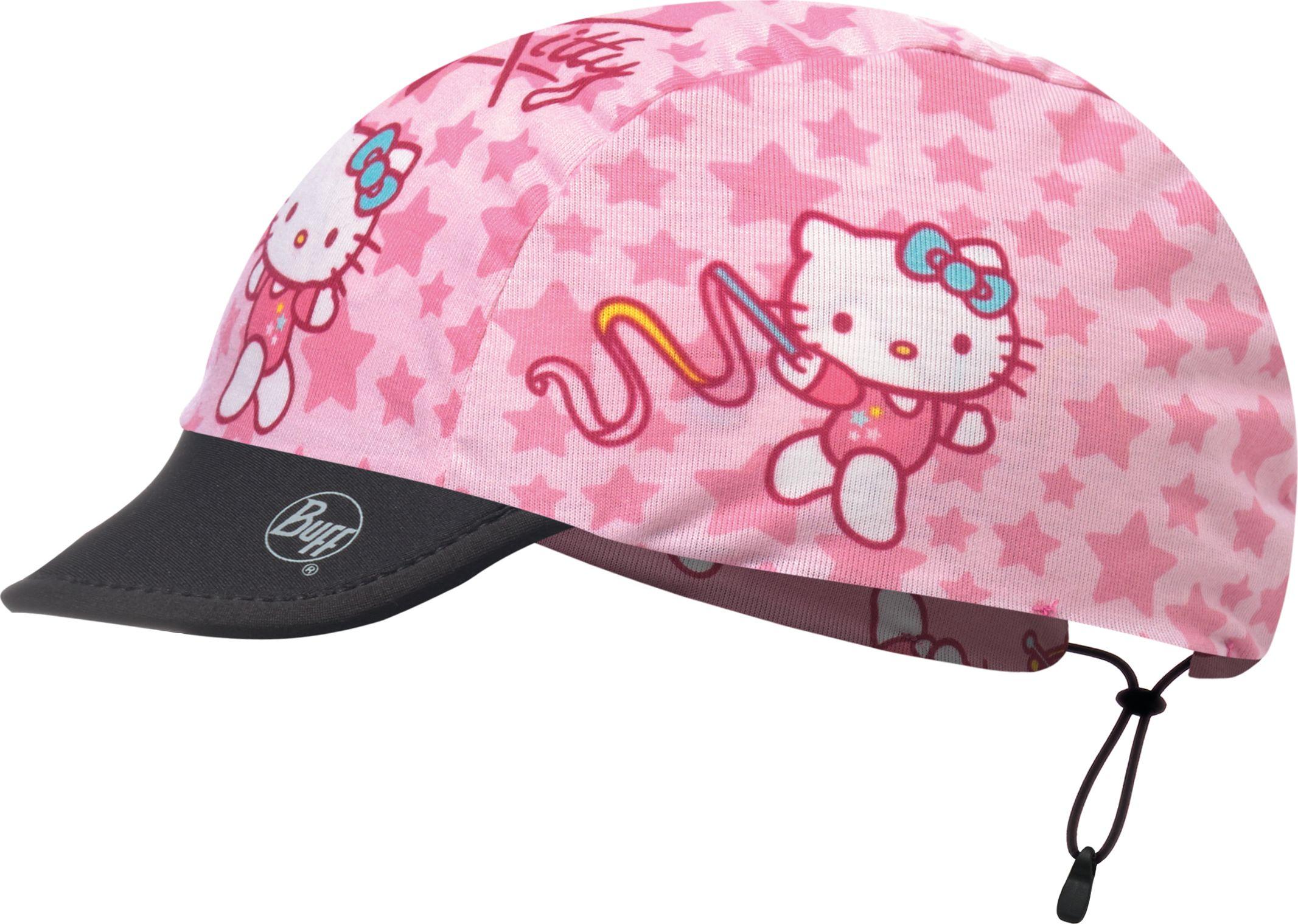 Кепка для девочки Buff Hello Kitty Cap Gymnastics Pink, цвет: розовый. 117286.538.10.00. Размер универсальный117286.538.10.00Яркая, легкая двухсторонняя кепка для девочек- защита от солнца в жаркое время года. Имеет два дизайна, чтобы сменить один дизайн на другой достаточно вывернуть изделие наизнанку. Козырек выполнен из неопрена. Особенности: защита от ультрафиолетового излучения на 95%; превосходная воздухопроницаемость и контроль влажности; легкий вес, помещается в карман; кепка прекрасно держится на голове и не спадает при любой степени активности. Размер (обхват головы): 45-51 см (дети 4-8 лет).