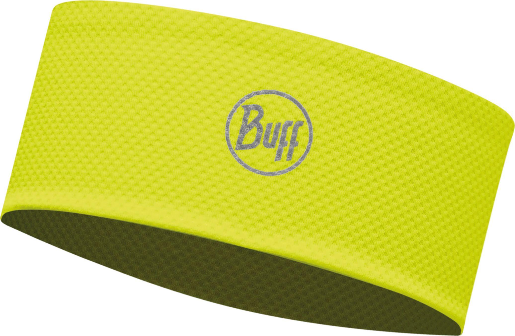 Повязка Buff Fastwick Headband R-Solid Yellow Fluor, цвет: желтый. 113660.117.10.00113660.117.10.00Спортивная повязка на голову Headband Buff это нехитрое приспособление, которое предотвратит попадание пота и волос на лицо и в глаза. Такие летние повязки на голову используют во время бега, игры в теннис или при любой другой аэробной нагрузке. Особенности: - Материал Fastwick Extra Plus формирует систему, которая выводит влагу наружу от кожи к внешнему слою ткани, где испаряется и высыхает быстрее, нежели на любом другом материале. - Специальная конструкция обеспечивает комфорт даже при сильной активности. - Светоотражающие элементы позволят быть заметным в темное время суток. - Размеры: 24,9 x 7,7 см - 100% полиэстер