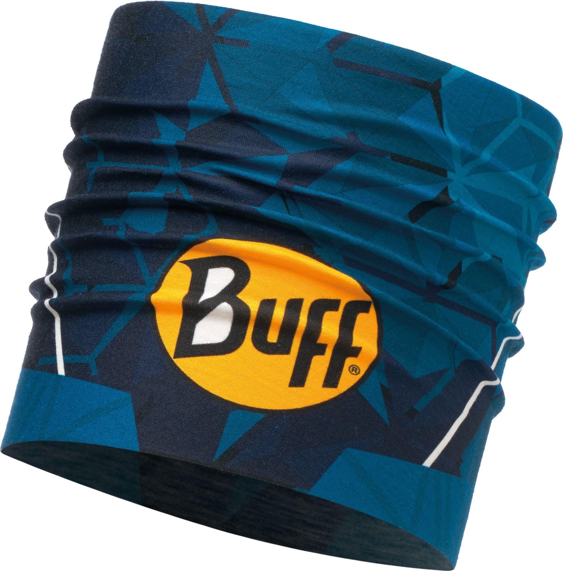 Повязка Buff UV Multifunctional Headwear Helix Ocean, цвет: темно-синий. 117183.737.10.00117183.737.10.00Спортивная повязка на голову Headband Buff это простое приспособление, которое уберет пот и волосы с вашего лица и глаз. Летнюю повязку на голову Buff изготавливают из особого материала Coolmax Extreme, который отведет излишнюю влагу и сохраняет вашу голову от перегрева, даже в самые жаркие летние дни. Модель можно использовать во время бега, игры в теннис или при любой другой аэробной нагрузке. Материалы и технологии: - светоотражающий рисунок (логотип) - ткань #Coolmax_Extreme# - защита #UVProtection# - естественные свойства материала предотвращают появление неприятного запаха с применением технологии #POLYGIENE# - связана по круговой технологии, поэтому не имеет швов. - материал:100% полиэстер Особенности: - превосходная воздухопроницаемость и контроль влажности - легкий вес - прекрасно держится на голове и не спадает при любой степени активности. - сертификат OEKO-TEX standart 100:независимая система проверки продукции на всех стадиях производства - толщина: 1 мм - размер:55-62 см (взрослые), 24,5 x 9,4 см - вес:15 г.