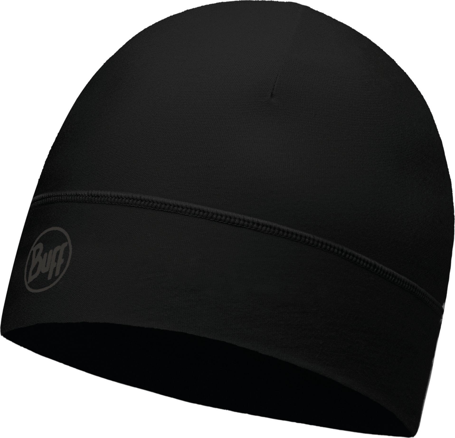 Шапка Buff Microfiber 1 Layer Hat Solid Black, цвет: черный. 113246.999.10.00. Размер универсальный113246.999.10.00Шапка от Buff подходит для прогулок и занятий спортом Материал микрофибра в один слой - обеспечивает хорошую воздухопроницаемость и контроль влаги. Polygiene препятствует размножению бактерий и появлению запахов.