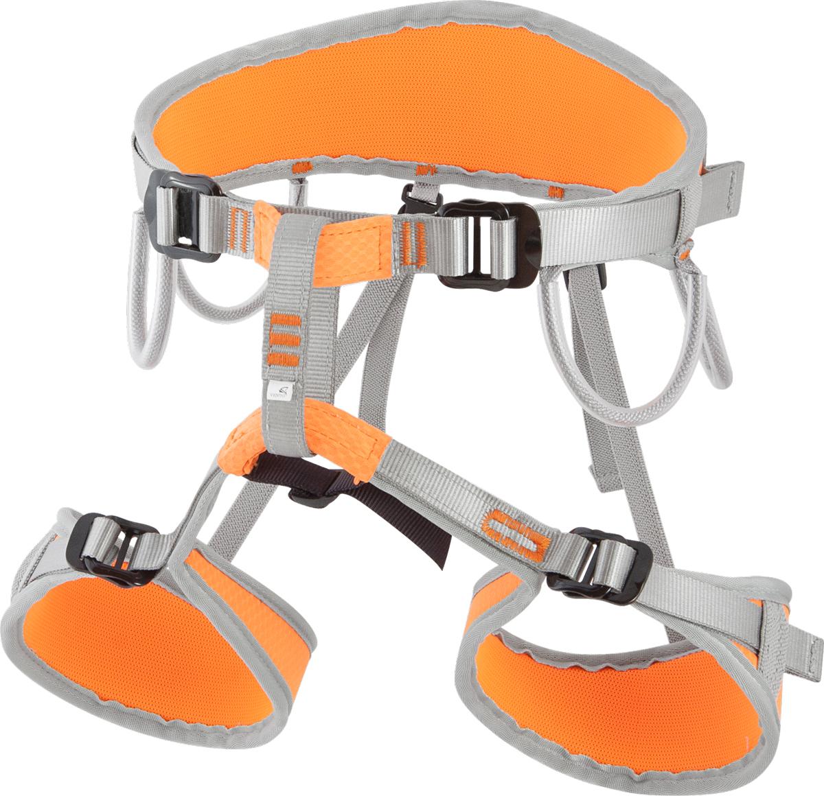 Система страховочная Vento Argon Toxic, цвет: оранжевый, размер Svnt 108to 1Яркая альпинистская беседка «Argon» разработана для альпинистов, скалолазов и туристов. Это универсальная полностью регулируемая обвязка, сшитая по технологии «силового каркаса», что позволяет распределить нагрузку на всю площадь пояса и ножных обхватов. Две пряжки «дуплекс» на поясе предназначены для регулирования беседки, а также для правильного позиционирования страховочного кольца. Конструкция включает 4 широкие петли и большое количество слотов для развески снаряжения. Производится в двух размерах.Характеристики:Размер 1:Масса: 420 г Обхват пояса: 80 – 122 смОбхват ног: 47 – 65 смСоответствие: EN 12277Сертификат: СЕ (E-30-20010-15)Яркая альпинистская беседка «Argon» разработана для альпинистов, скалолазов и туристов. Это универсальная полностью регулируемая обвязка, сшитая по технологии «силового каркаса», что позволяет распределить нагрузку на всю площадь пояса и ножных обхватов. Две пряжки «дуплекс» на поясе предназначены для регулирования беседки, а также для правильного позиционирования страховочного кольца. Конструкция включает 4 широкие петли и большое количество слотов для развески снаряжения. Производится в двух размерах.Характеристики:Размер 1:Масса: 420 г Обхват пояса: 80 – 122 смОбхват ног: 47 – 65 смСоответствие: EN 12277Сертификат: СЕ (E-30-20010-15)