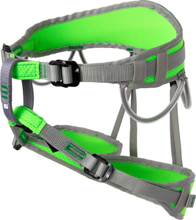 Система страховочная Vento Маугли, цвет: зеленый, размер XSvnt 107Альпинистская беседка «Маугли» предназначена для юных спортсменов, занимающихся скалолазанием. Это полностью регулируемая обвязка, сшитая по технологии «силового каркаса», что позволяет распределить нагрузку на всю площадь пояса и ножных обхватов. Правильное положение страховочного кольца обеспечивается двумя пряжками дуплекс. Конструкция включает 4 петли для развески снаряжения.Характеристики:Масса: 340 г Обхват пояса: 56 – 98 смОбхват ног: 30 – 52 см
