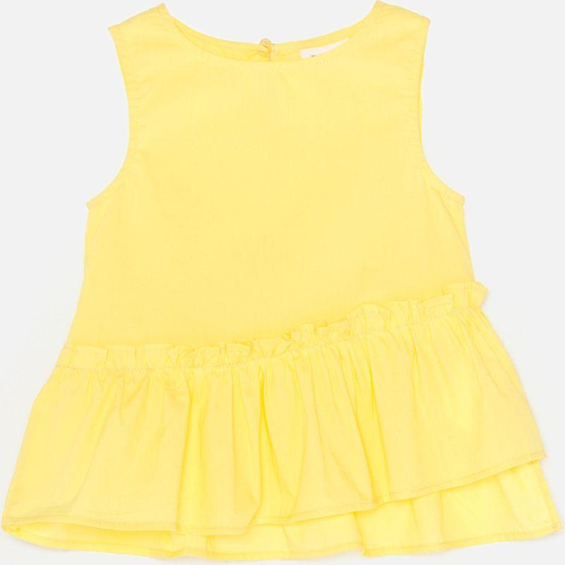 Блузка для девочки Acoola Morpho, цвет: желтый. 20210270032_1200. Размер 164