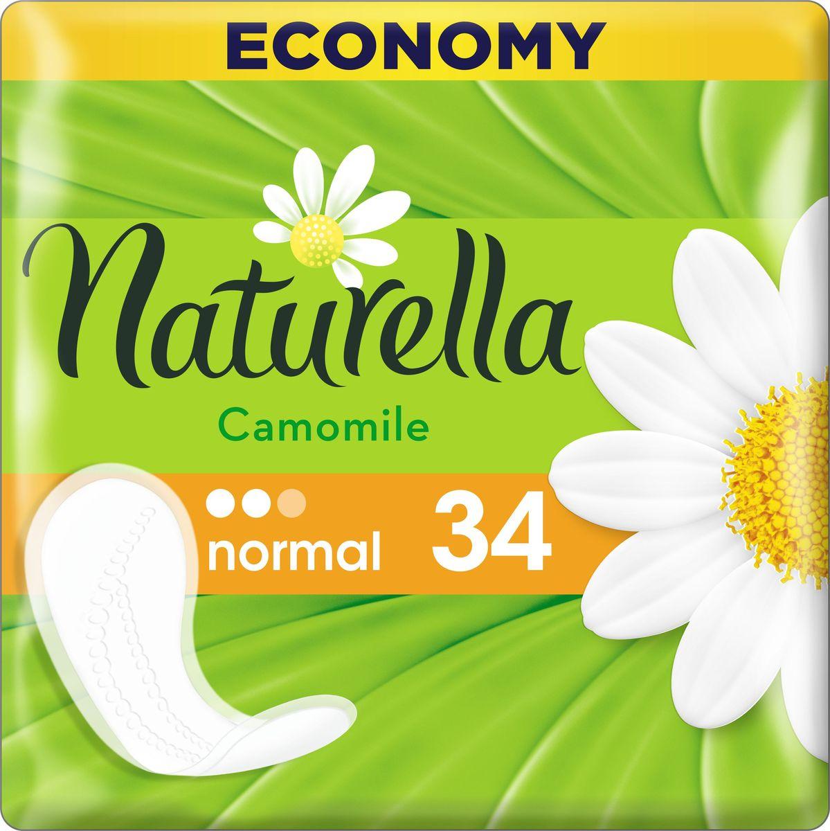 Naturella Женские гигиенические прокладки на каждый день Camomile Normal Duo 34 шт авент прокладки женские гигиенические для бюстгальтера дневные 30