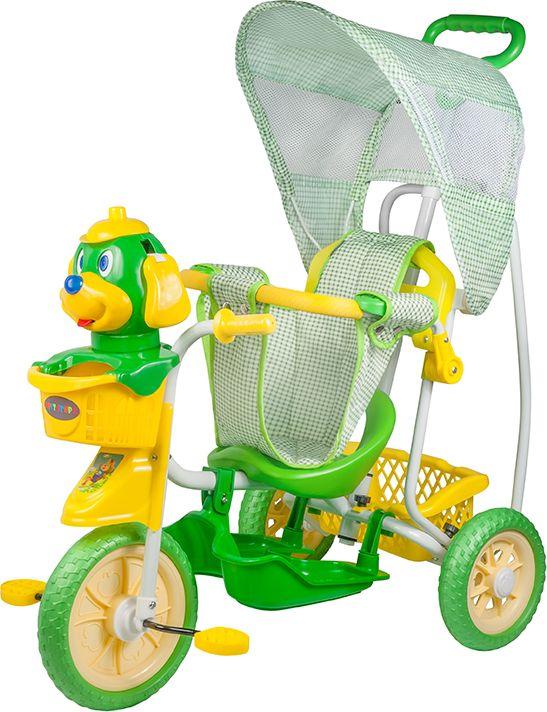 Pitstop Велосипед трехколесный цвет зеленый MT-BCL1117001