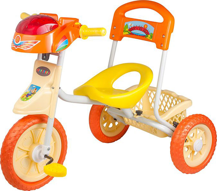 PitstopВелосипед детский трехколесный цвет оранжевый MT-BCL1117002 Pitstop