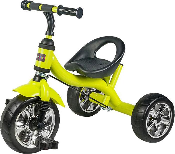 Pitstop Велосипед детский трехколесный цвет светло-зеленый