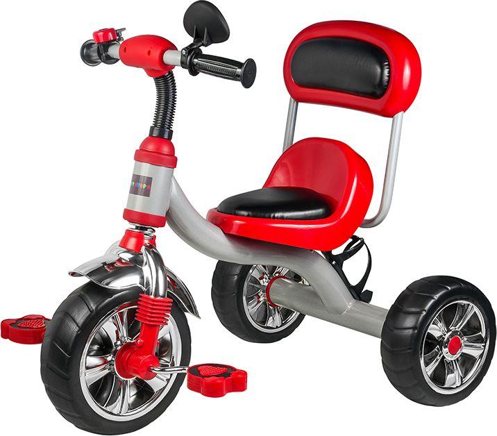 Pitstop Велосипед детский трехколесный цвет красный MT-BCL1117004