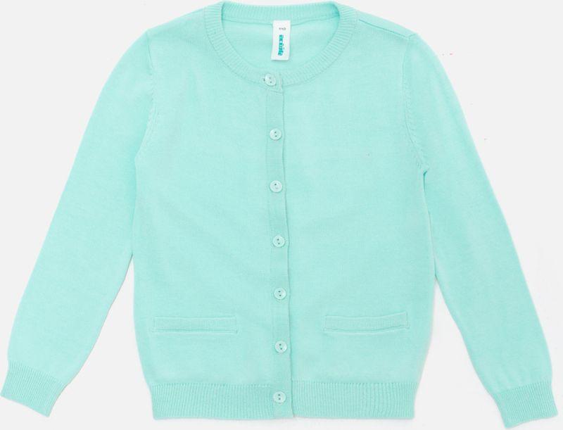 Кофта для девочки Acoola Mirella, цвет: светло-зеленый. 20220130137_9200. Размер 128 водолазки и лонгсливы zeyland кофта для девочки 72z4tav61