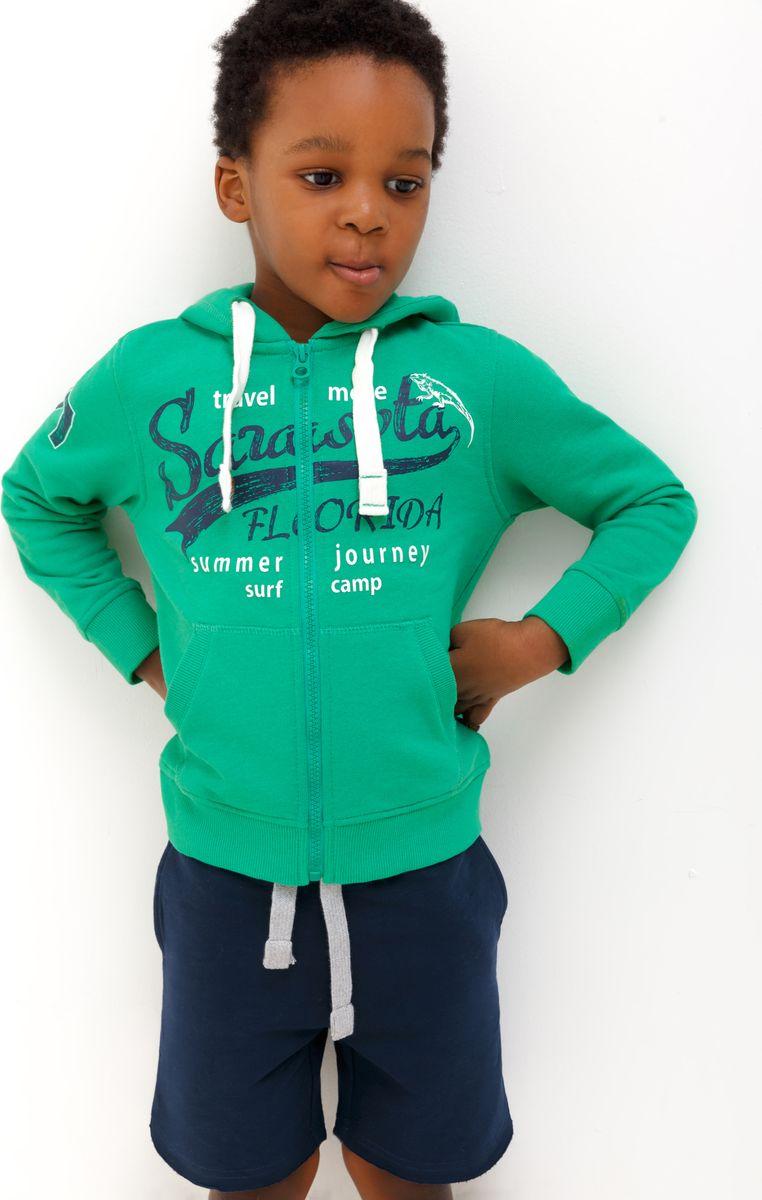 Толстовка для мальчика Acoola Bronte, цвет: зеленый. 20120130124_2300. Размер 116 bronte c bronte jane eyre