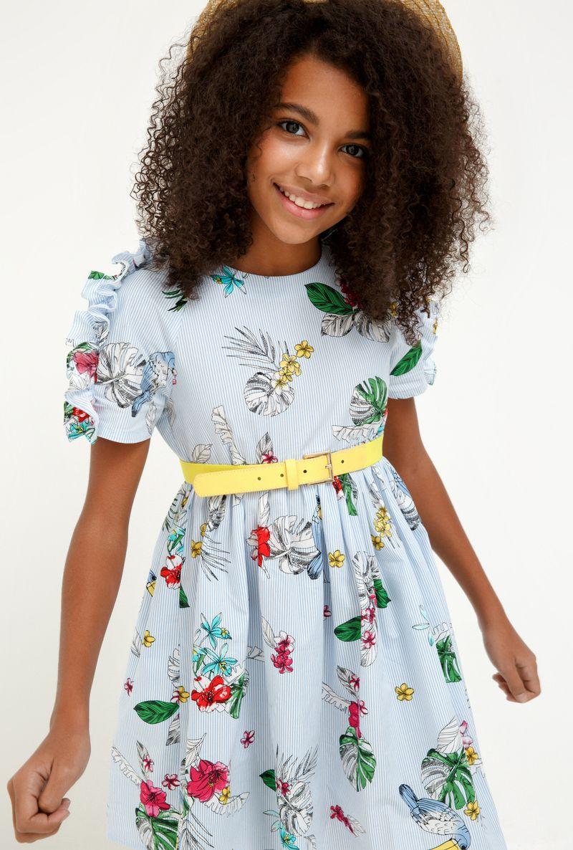 Платье для девочки Acoola Acai, цвет: разноцветный. 20210200229_8000. Размер 164 платье overmoon by acoola overmoon by acoola ov003eguci55