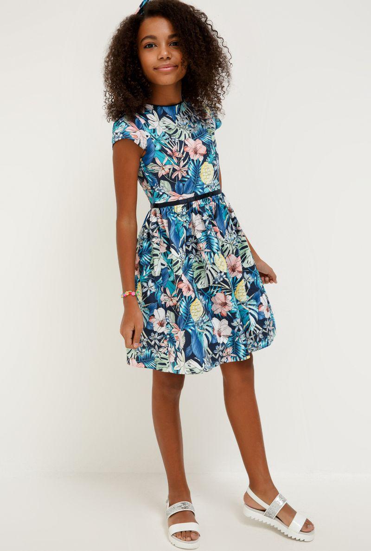 Платье для девочки Acoola Tamarin, цвет: разноцветный. 20210200228_8000. Размер 164 платье overmoon by acoola overmoon by acoola ov003eguci55