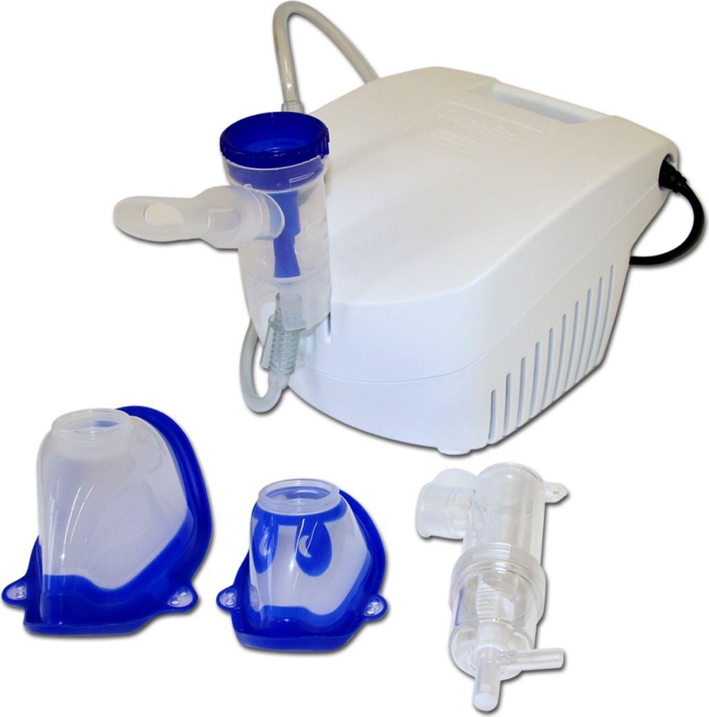 Flaem Nuova Ингалятор компрессорный Супер-ЭкоNU03P00Индивидуальный компрессорный ингалятор (небулайзер) Супер-Эко производства фирмы «Флаем Нуова» (Италия) предназначен для проведения небулайзерной аэрозольтерапии. Рекомендуется для профилактического и лечебного использования как в домашних условиях, так и в условиях медицинских учреждений.Предназначен для проведения небулайзерной аэрозольтерапии; применяется при лечении острых и хронических заболеваний легких, верхних и нижних дыхательных путей: фарингита, ларингита риносинусита, трахеита, бронхита, бронхиальной астмы, пневмонии, туберкулеза легких, хронических обструктивных заболеваний легких, послеоперационной дыхательной недостаточности.