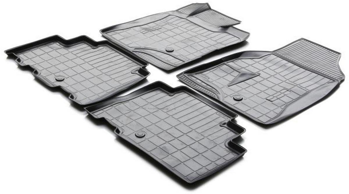 Купить Коврики салона Rival для Chevrolet Captiva 2011-, с крепежом, полиуретан, 4 шт. 11007001