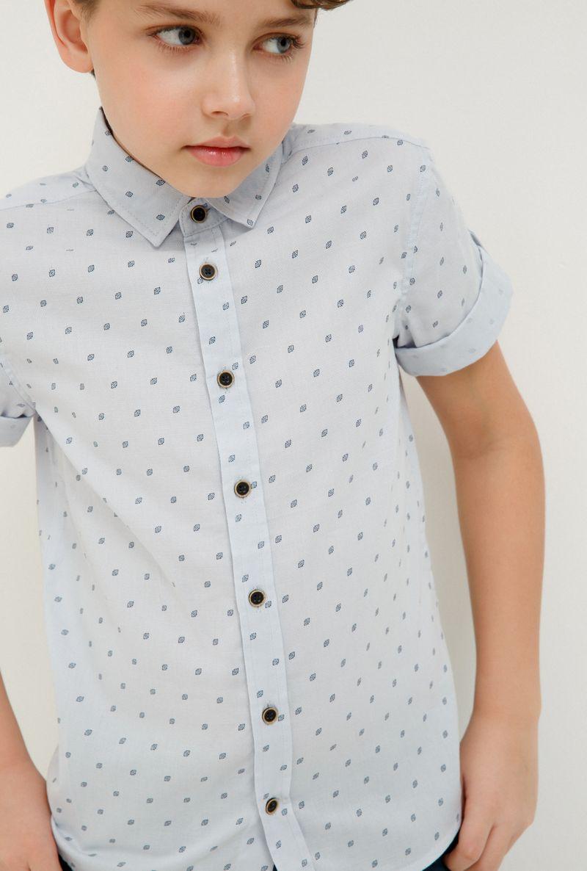 Рубашка для мальчика Acoola Howler, цвет: голубой. 20110290029_400. Размер 164