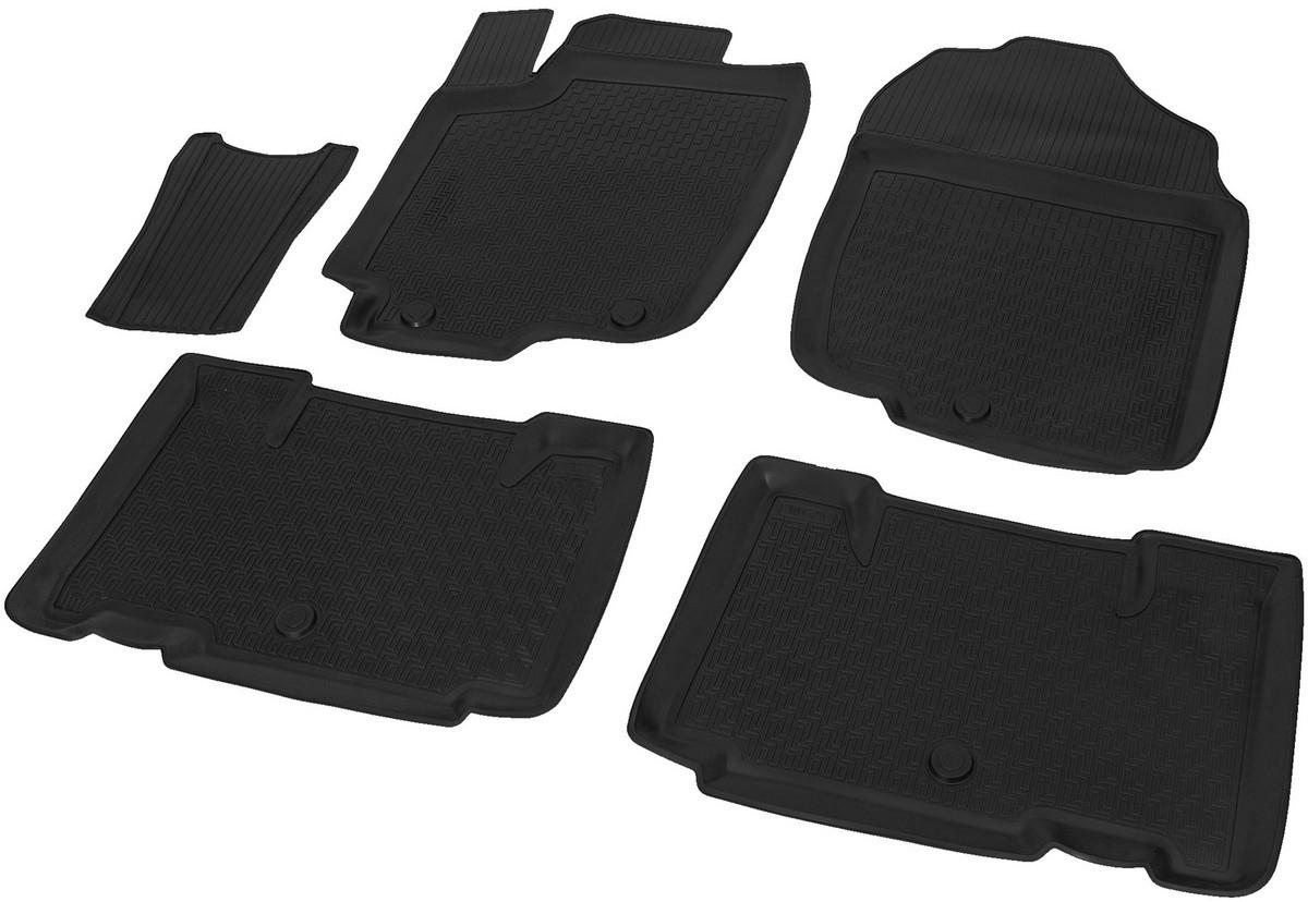Купить Коврики салона Rival для Toyota RAV4 2013-2015, 2015-, с крепежом, с перемычкой, полиуретан, 5 шт. 15706001