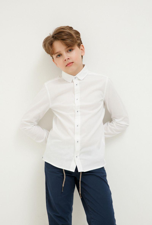 Фото Рубашка для мальчика Acoola John, цвет: белый. 20110280067_200. Размер 170