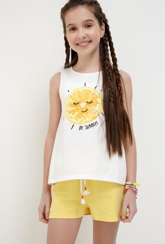 Футболка для девочки Acoola Aldan, цвет: белый. 20214220019_200. Размер 158 футболка для девочки acoola aldan цвет белый 20214220019 200 размер 164