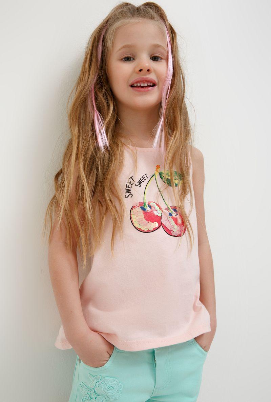 Футболка для девочки Acoola Aldan, цвет: светло-розовый. 20224220019_3400. Размер 116 футболка для девочки acoola aldan цвет белый 20214220019 200 размер 164
