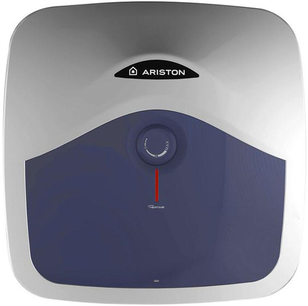 Ariston ABS BLU EVO R 10 водонагреватель электрический настенный3100585Компактные водонагреватели серии ABS BLU EVO R существенно экономят пространство, при этом обеспечивая горячей водой до двух точек водоразбора. Ручка регулировки, расположенная на передней части водонагревателя, позволяет легко задавать температуру воды, а устройство защитного отключения обеспечивает защиту от поражения электрическим током.