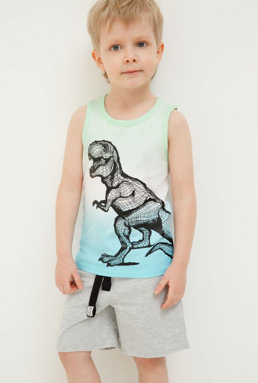 Футболка для мальчика Acoola Camu, цвет: светло-зеленый. 20124220014_2200. Размер 122 футболка для мальчика acoola remark цвет светло бежевый 20110110105 300 размер 170