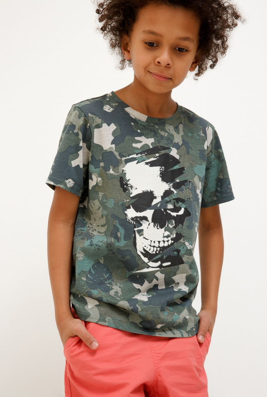 Футболка для мальчика Acoola Huxley, цвет: зеленый. 20110110108_2300. Размер 158 футболка для мальчика acoola carroll цвет зеленый 20120110113 2300 размер 122