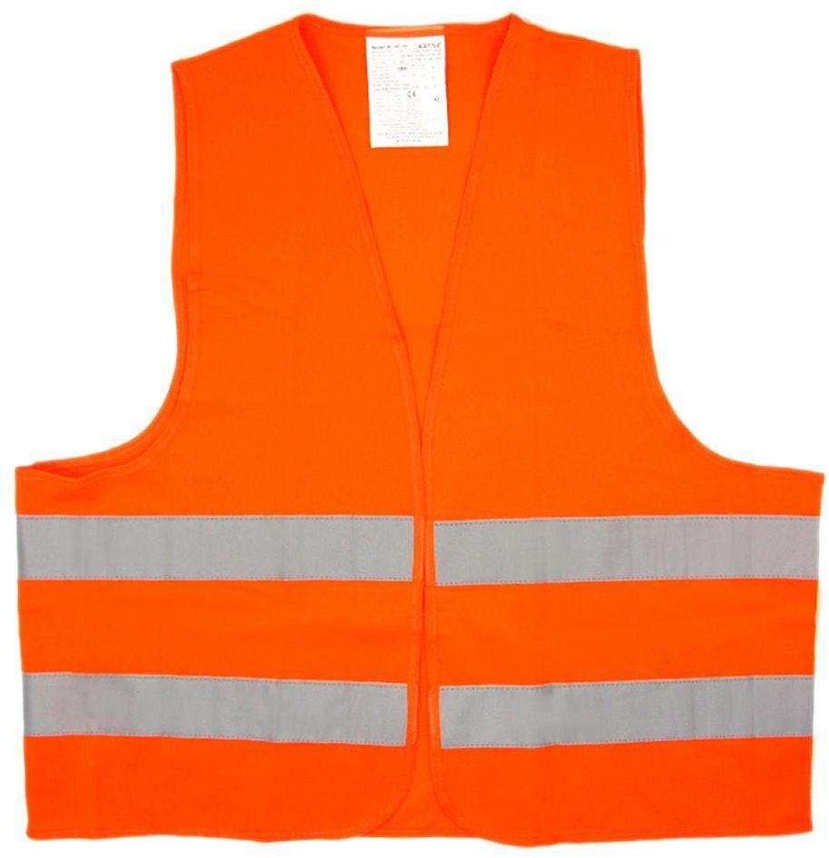 """Жилет """"Airline"""", со светоотражающими полосами, взрослый, цвет: оранжевый. Размер XL (65 х 65 см)"""