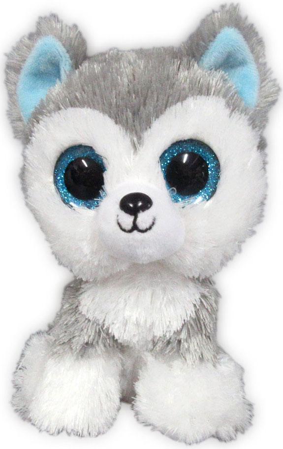 Teddy Мягкая игрушка Собачка Хаски 15 см teddy мягкая игрушка собака в голубом пиджаке 18 см