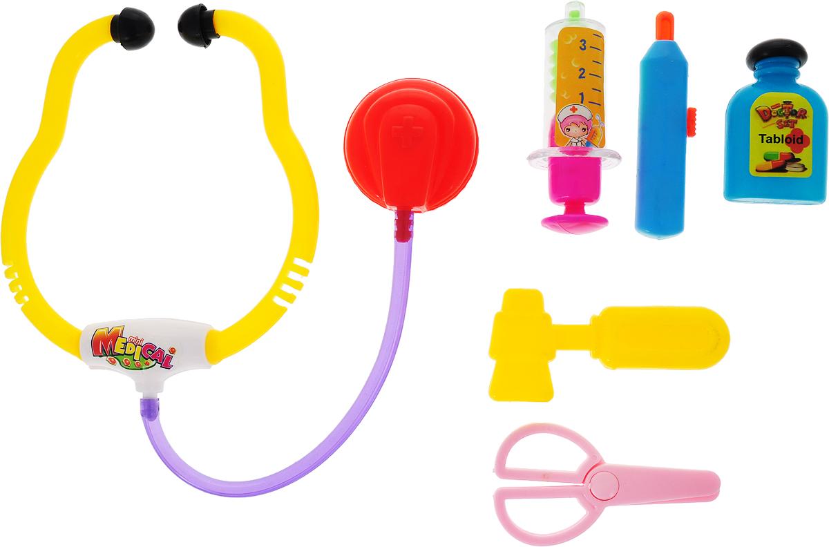 Yako Игровой набор Доктор 6 предметов M6186 интерактивные игрушки yako робот y2055209