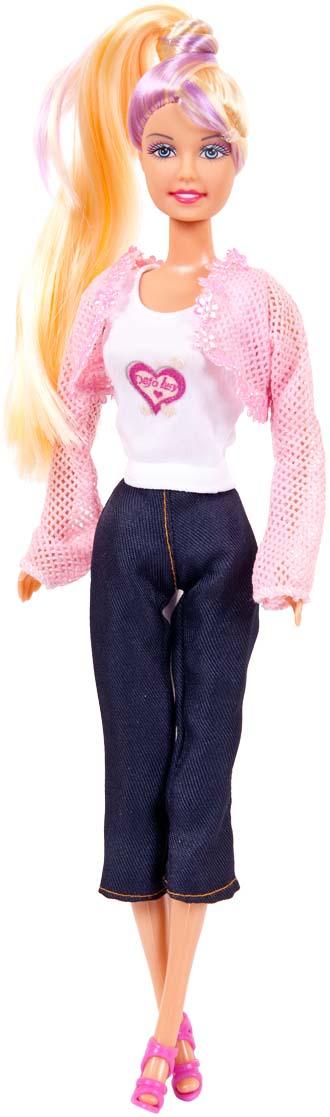 Defa Toys Кукла Lucy Модница в наборе с аксессуарами defa toys кукла lucy happy wedding цвет платья розовый