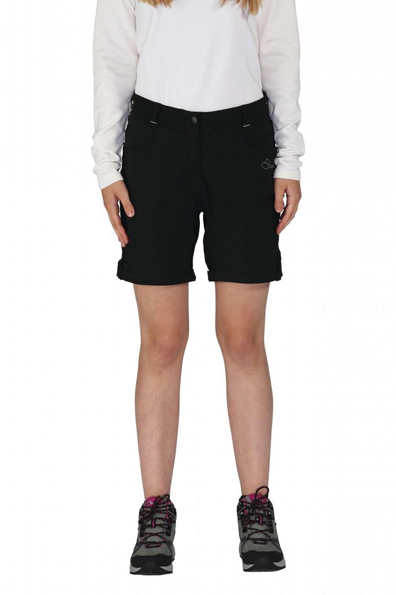 Велошорты женские Dare 2b Melodic Short, цвет: черный. DWJ336-800. Размер 10 (42/44) тайтсы dare 2b dare 2b da017ewaxbe6