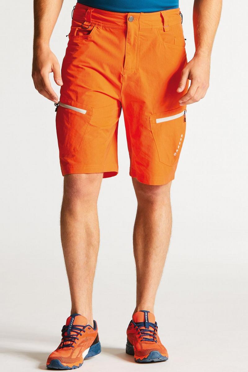 Велошорты мужские Dare 2b Tuned In Short, цвет: оранжевый. DMJ335-2SV. Размер 32 (46) футболка dare 2b dare 2b da017emaxbd3
